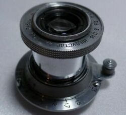 Industar-22 Russian Collapsible 3.5/50 Lens For Fed Leica M39 L39 Mount 1941