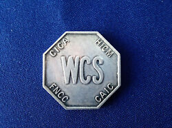 Wcs Clubs Presidents Leaders 200 Cica Hicm Rotary Silver Art Medal P2181