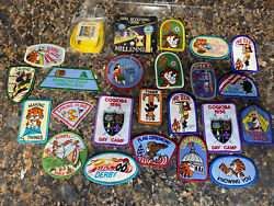 Lot Of 26 Vintage Boyscout And Girl Scout Patches And/or Badges Cub Scouts