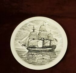 Wedgwood Hms Discovery Historical Canadian Vessels 10-1/2 Collector Plate