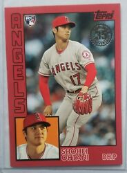 Shohei Ohtani 2019 Topps 1984 Red Ssp Sp Rc Angels 4/10 Non Refractor