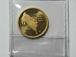 1987 Singapore 25 Singold - Year Of The Rabbit - 1/4 Oz Gold 9999