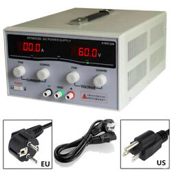 Variable Dc Switch Power Supply Adjustable Dual Digital Display For Laboratory