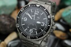 Menand039s Sinn 757 Tegimented Automatic Stainless Steel Pilot Watch Full Set
