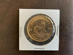 1984 South Africa Krugerrand Gold Proof 1oz Coin - Fine Gold