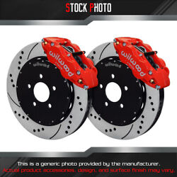 Wilwood Slotted Rotor Forged Narrow Superlite Caliper F Brake For 98-04 Mustang