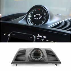 For 2008-2015 Toyota Land Cruiser Replacement Black Dashboard Clock Cover Trim