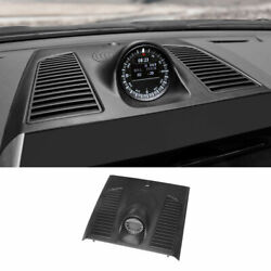 For 2016-2021 Toyota Land Cruiser Replacement Black Dashboard Clock Cover Trim