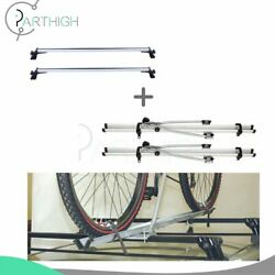 Roof Rack Baggage For Universal Chevy Dodge Ford Honda Crossbar And Bicycle Set