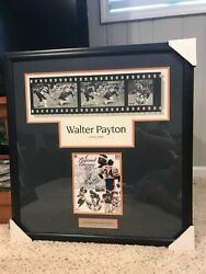 Chicago Bears Walter Payton Signed Best Prank Pulling Down Suhey Pants Classic