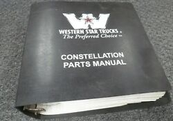 2001 Western Star 5900 5942 5964 5942s 5942ss 5964s Truck Parts Catalog Manual