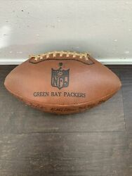 Vintage 1970's Green Bay Packers Signed Football