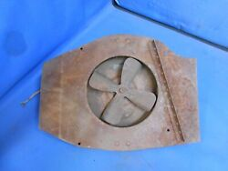 1940and039s - 1950and039s Buick Cadillac Harrison Under Seat Heater Uh-147 Round Core Fan