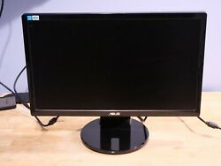 Asus Ve208t 1600 X 900 20 Monitor Power And Vga Cables Included. Read