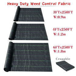 Woven Ground Cover Landscape Fabric Heavy Pp Weed Barrier Garden Mat