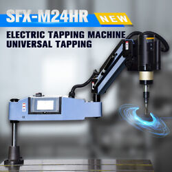 Us Stock M4-m24 Electric Tapping Machine Flexible Arm Tapper With Universal 360anddeg