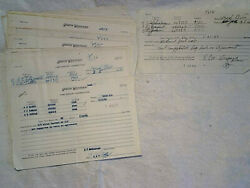 86-1969-70 Chicago And Northwestern Railroad Time Report Correction Sheets,madison