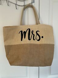 Mrs. Beach Bag Used Once $12.50