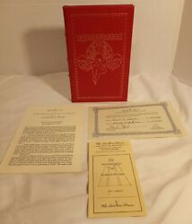 The Left Hand Of Darkness Ursula K Le Guin,signed Easton Press,science Fiction