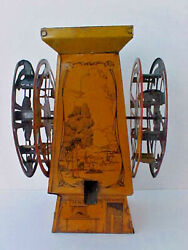 Antique Tin Lithograph Sand Toy Not Pail