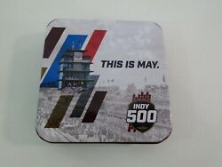 2019 Indycar Grand Prix And Indianapolis 500 103rd Running Pit Badge Tin Box