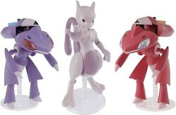 Pokemon Plamo Collection 31+32 Red Genesect And Genesect And Mewtwo Model Kit Bandai
