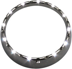 7 Led Halo Headlight Trim Rings With Built-in Turn Signals Cdtb-7tr-2c
