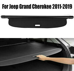 For 2011-2019 Jeep Grand Cherokee Cargo Cover Oem Luggage Shield Upgrade Trunks