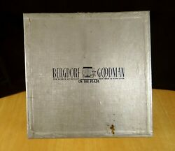 Vintage Square Hat Or Gift Box Bergdorf Goodman On The Plaza 5th Ave Ny 1940's