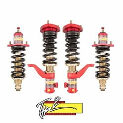 Function And Form Type 2 Adjustable Full Coilovers For 2001-05 Honda Civic