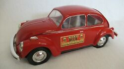 Vintage Volkswagon Bettle Bug Whiskey Jim Beam Decanter By Regal China 1972