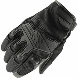 Speed And Strength Backlash Women#x27;s Vented Textile Motorcycle Glove Black All $39.95