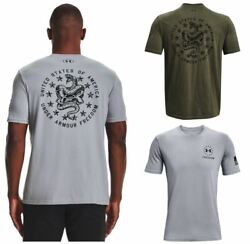 Under Armour 1362050 Men#x27;s UA Freedom Snake Graphic Short Sleeve Tee T Shirt $23.95