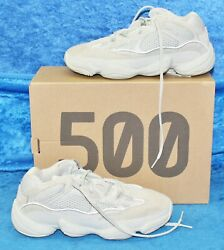 2018 Menand039s Adidas Yeezy 500 And039saltand039 White/light Gray Size 6.5 Us Adiprene Ee7287