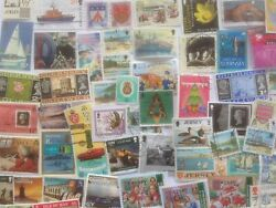 5000 Different British Islands - Jersey/guernsey/isle Of Man Stamp Collection