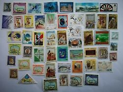 300 Different Kuwait Stamp Collection