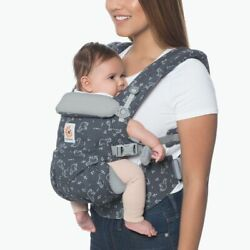 Ergo Baby Omni 4 Position 360 Gray Child Carrier Bag V Clean Trunk Up Sold Out