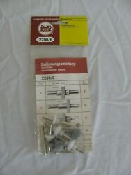 Vintage Lgb Trains G Scale Drive Gear And Axle Set 2200/6 Nos