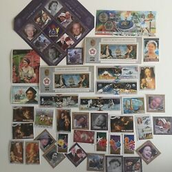 300 Different Cook Islands Stamp Collection