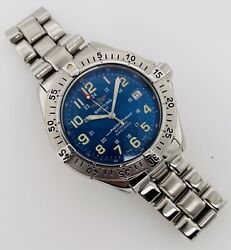 Breitling Superocean Automatic Menand039s Blue Dial 1000m 41mm Steel A17040