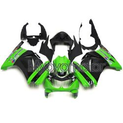 Motorcycle Abs Plastic Fairings For Ex250r 2008 2009 2010 2011 2012 Green Black