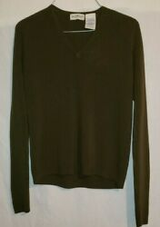 White Stag Pull Over Women#x27;s Sweater Olive Green Size L 12 14 $12.34