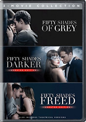 Fifty Shades Of Grey3 Trilogy Movie Collection Dvd Theatrical Version