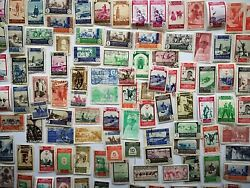 200 Different Spanish Morocco Stamp Collection