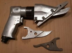 Used Pneumatic Pac Tool Ss402 Fiber Cement Siding Shear, W Extra Center Blades.