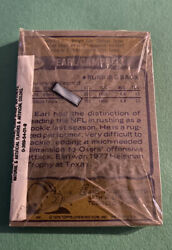 1979 Topps Football Sealed Cello Pack Earl Campbell Rookie On Back