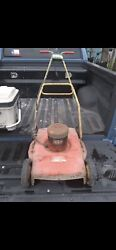 Vintage Huffman Electric Push Mower Runs Great Cuts And Mulches Very Rare