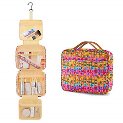 Women Toiletry Travel Bag Large Capacity Enicuter Hanging Waterproof Cosmetic 4 $26.91