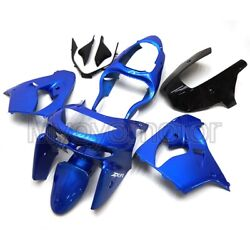 Motorcycle Abs Plastic Fairings For Zx-9r 1998 1999 Zx9r 98 99 Blue Bodywork