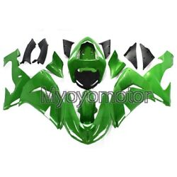Motorcycle Abs Plastic Fairings For Zx-10r 2006 2007 Zx10r 06 07 Green Injeciton